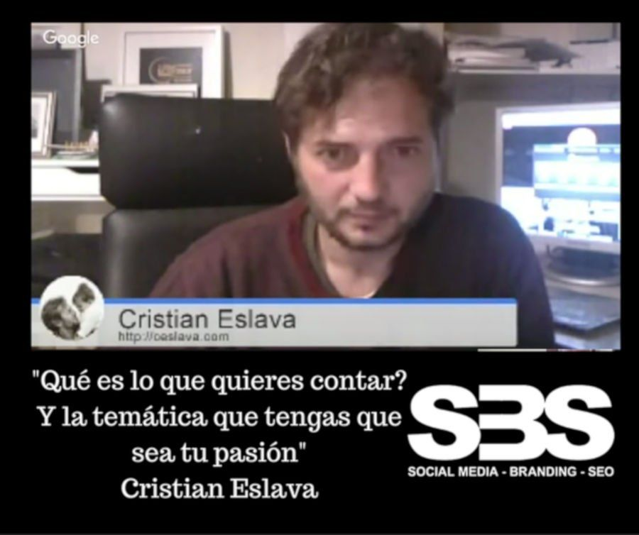 Entrevista a Cristian Eslava